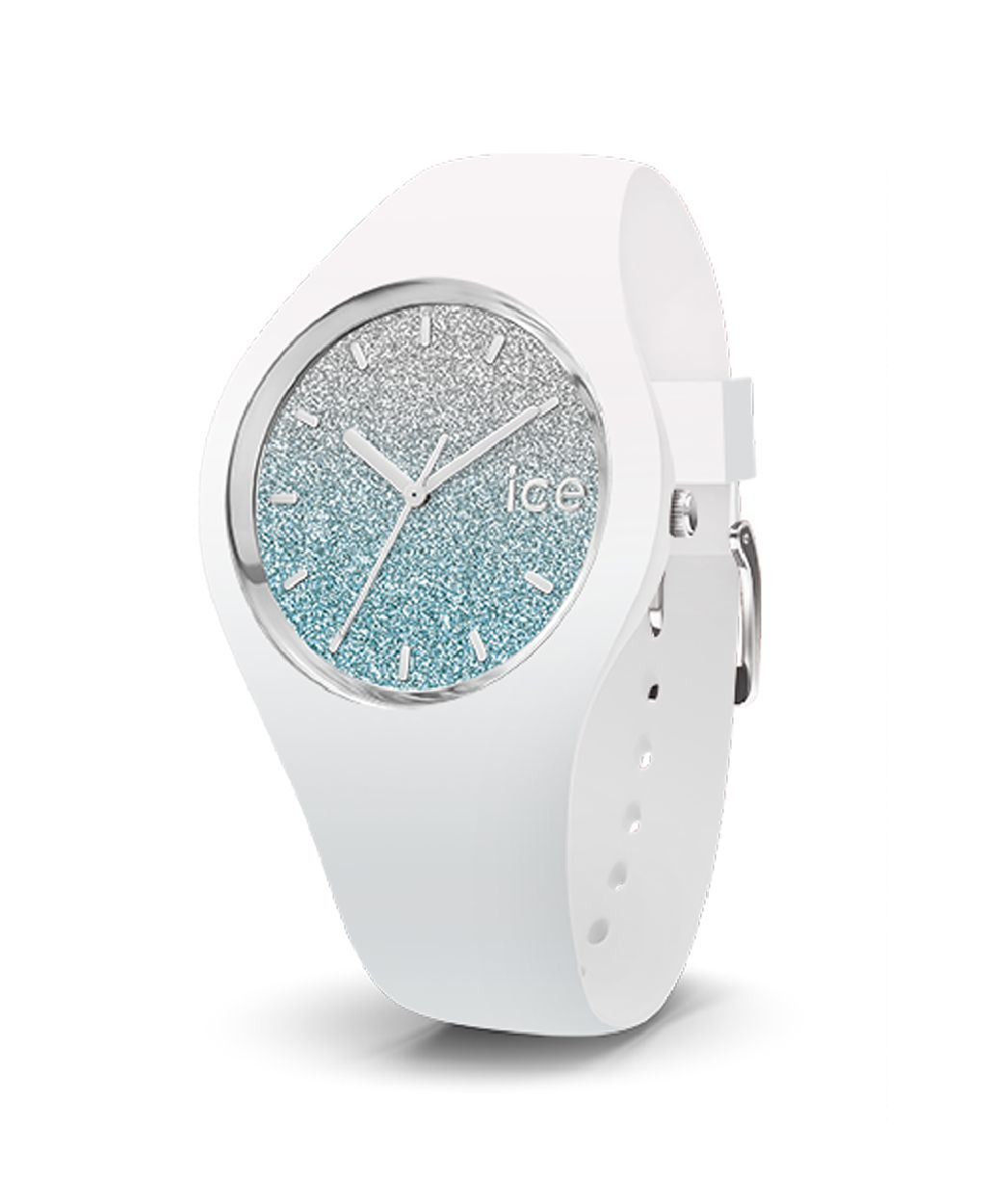 ice watch ice lo white blue small 3h 13425 analog. Black Bedroom Furniture Sets. Home Design Ideas