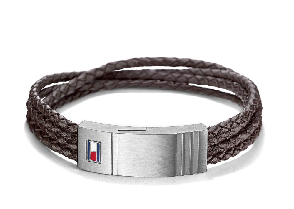 Tommy Hilfiger Casual Core Men s Bracelet 2701008 Stainless Steel ... a1aeaa534513f