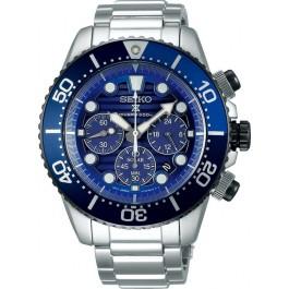 Seiko Quarz Chrono Herrenuhr Prospex Sea Diver Save the Ocean Solarbetrieb SSC675P1