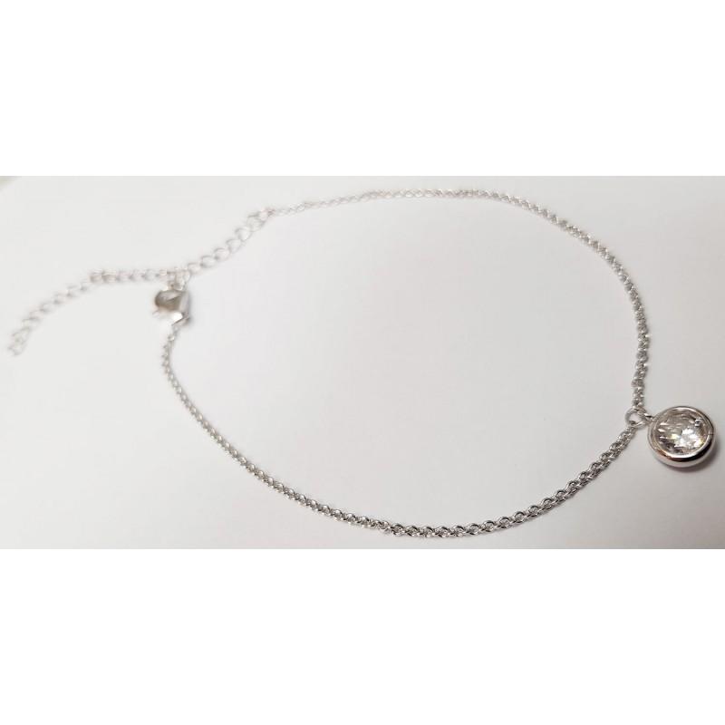 Damen Fußkette Silber 92006793280