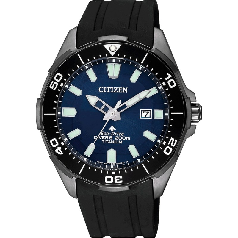 Citizen Promaster Titan Taucheruhr Eco Drive Herrenuhr BN0205-10L