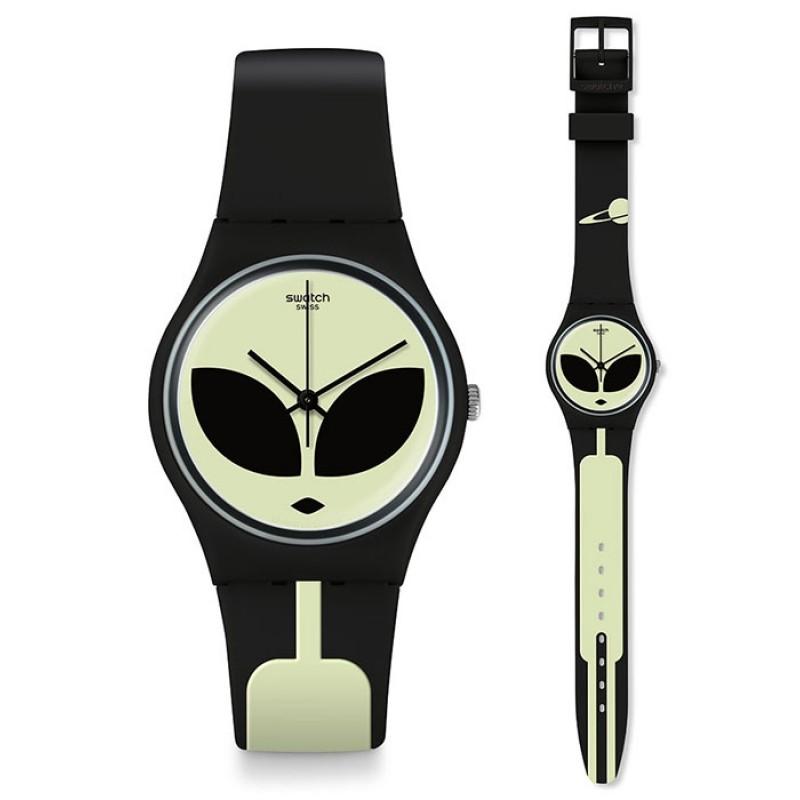 Swatch Telefon Maison Alien disclosure watch Uhr GB307