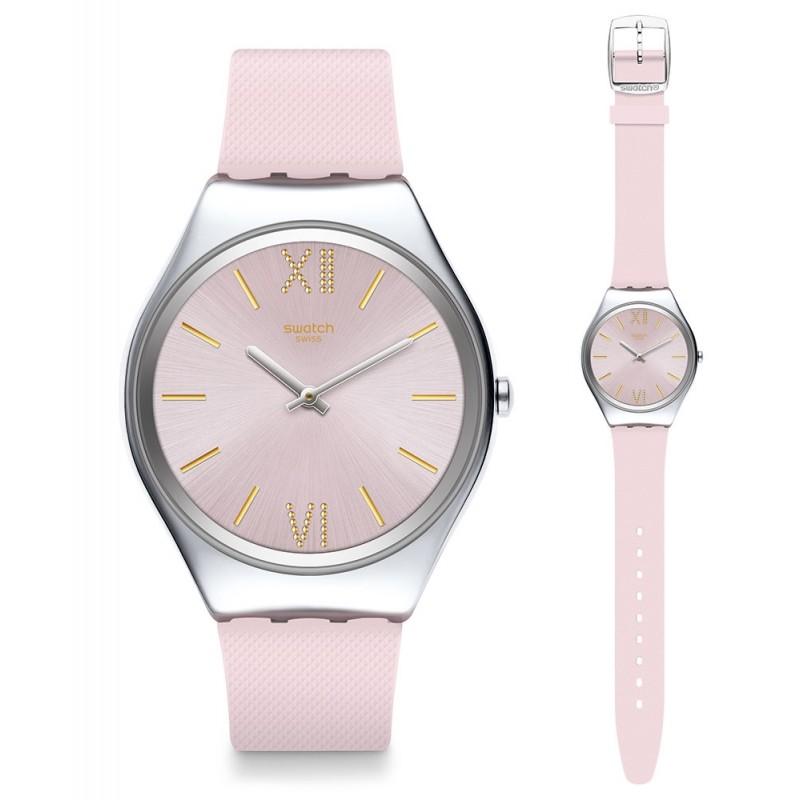 Swatch Skin Irony Lavanda Uhr SYXS124