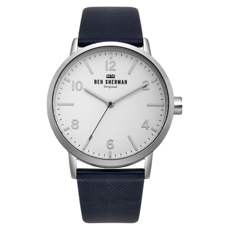 Ben Sherman Big Portobello Herringbone Herrenuhr WB070UB