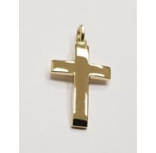 Kreuz Anhänger aus 585/- Gelbgold B440115-14k