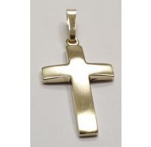 Kreuz Anhänger aus 333/- Gelbgold B440115K8