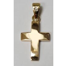 Goldenes Kreuz - Anhänger 750/- Gold  Best. 070621kzsteini