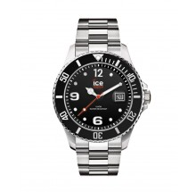 Ice Watch Black Silver Large 016032