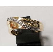 Damenring aus 333/- Gold Ring mit Zirkonia 910189R-56