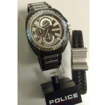 Police Special Herrenuhr + Armband 033D # stark reduziert