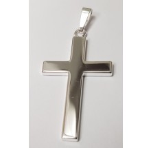 Kreuz  Anhänger aus Silber 346-709387-99