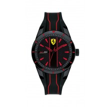 Scuderia Ferrari Red Rev Kinderuhr 0830479