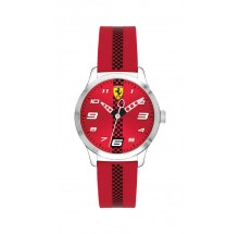 Scuderia Ferrari Pitlane Kinderuhr 0860001