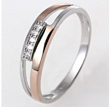 Damenring Gold bicolor 1-05647-56-0089