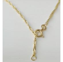 Damen Fußkette Gold 333/- Best. 85.49301-25cm