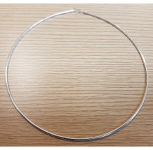 Damen Collier Halsreif Tonda 925/- Silber 14.44420-40cm