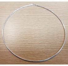 Damen Collier Halsreif Tonda 925/- Silber 14.44420-50cm