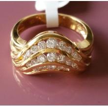 Damenring aus Gold mit Brillanten 6545581