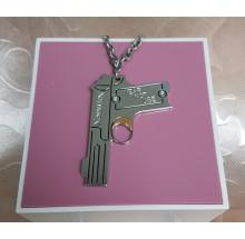 Nomination Edelstahl Damen Halskette Pistole CMET/001/C