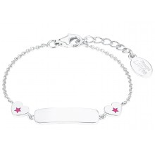 Prinzessin Lillifee Mädchen ID-Armband Herzen Gravurband 2027224