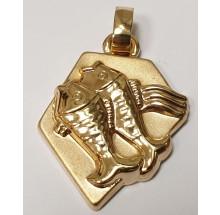 Goldener Anhänger 333/- Gold Fische 06.4150.03-fi