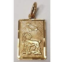 Sternzeichen Steinbock Anhänger aus Gold 333/-  - 06.9815.03-steinb