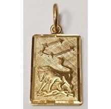 Sternzeichen Stier Anhänger aus Gold 333/-  - 06.9815.03-stier