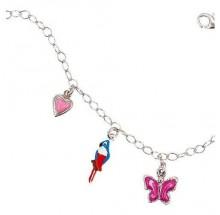 Scout Mädchen Armband Schmetterling Herz Papagei 260186100