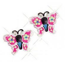 Scout Mädchen Ohrstecker Schmetterlinge 262126100