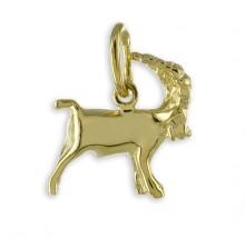 Goldener Anhänger Sternzeichen Steinbock 3561ST
