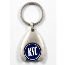 Karlsruher SC Schlüsselanhänger mit Chip KSC 555111 69400109