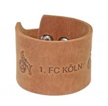 1. FC Köln Leder Armband breit 5100030 69400144