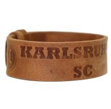 Karlsruher SC Leder Armband 9-10128 69400112