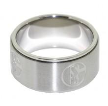 FC Schalke 04 Ring Emblem S04 Gr. 68 9-14161-68 69400186