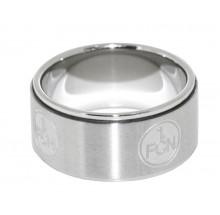 1. FC Nürnberg Ring Emblem FCN Gr. 62 5866 69400079