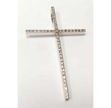 Kreuz Anhänger Weißgold mit Brillanten 36-82000-0
