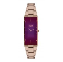Storm London Ixia Rose Gold Purple Damenuhr 47255/P