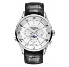 Roamer Classic Herrenuhr SUPERIOR MOONPHASE 508821-41-13-05