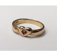 Taufanhänger Taufring aus 333/- Gold 20-04810