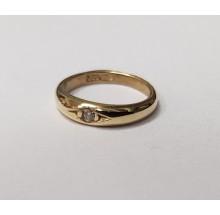 Taufanhänger Taufring aus 333/- Gold 48-04224