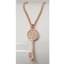 Damen Halskette mit Schlüssel 925/- Silber 157-117-r