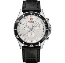 Swiss Military Hanowa Navy Line Flagship Chrono Herrenuhr 06-4183.04.001.07