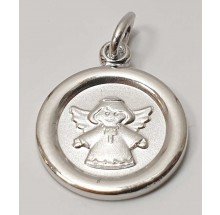 Anhänger Gravurplatte Engel Schutzengel 925/- Silber 207-39595-12-41838