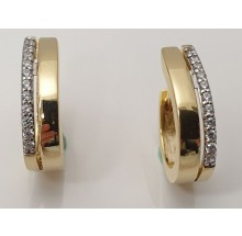 Damen Creole aus 333/- Gold 346-232483.300