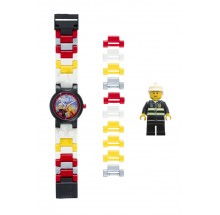 Lego Friends Fireman Kinderuhr 08-8020011