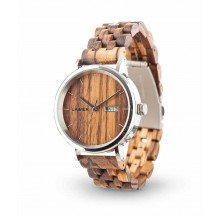 Laimer Woodwatch Roberto Sandelholz Holzuhr Holz Natur LM0064