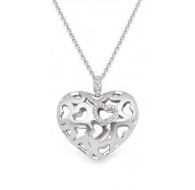 Viventy Damen Halskette mit einem Herz Anhänger 768942