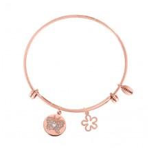 Coco88 Damen Armreif Sense Collection 8CB-10008 Blume+Schmetterling