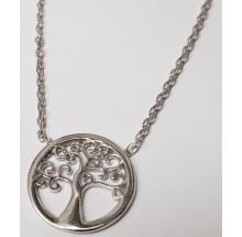 Damen Collier Lebenbaum 925/- Silber 99018393450