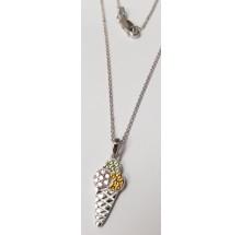 Damen Halskette mit Anhänger Eistüte 925/- Silber 99031893450